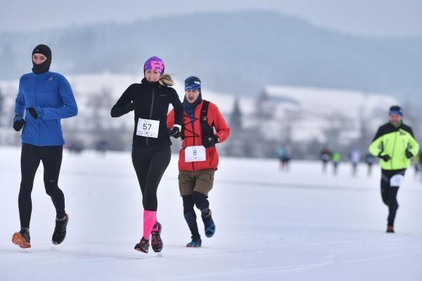 Lipno Ice Marathon 2020
