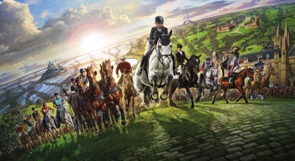 Jezdectví: Světové jezdecké hry 2014 Francie