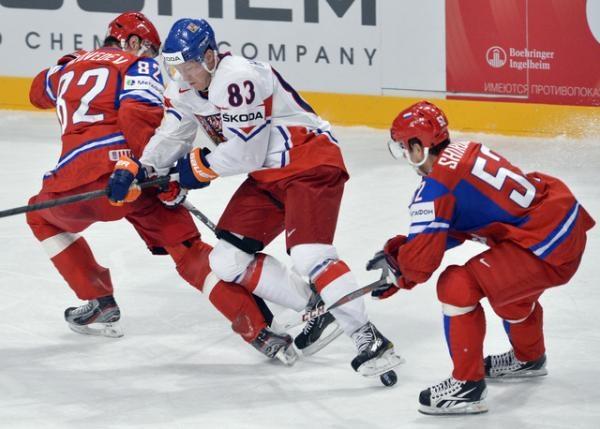 Hokej: Rusko - Česko