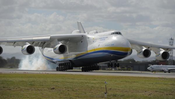 Král přepravy! Antonov An225!