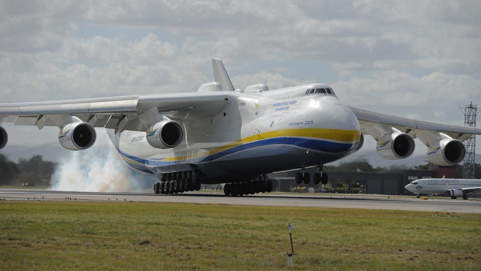 Dokument Král přepravy! Antonov An225!