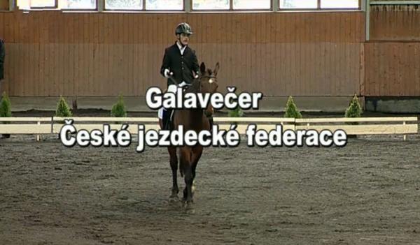 Jezdectví: Galavečer České jezdecké federace