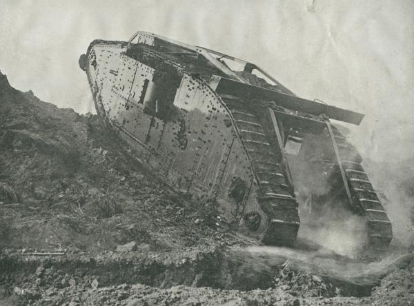 Dokument Tanky v pekle bojů: Zrození monstra