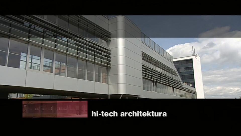 Dokument Hi-tech architektura po česku