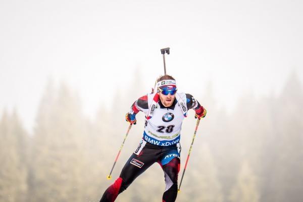 Biatlon: SP Slovinsko