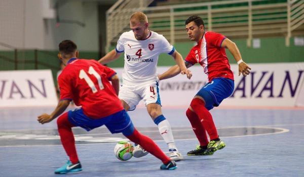 Futsal: Česko - Rumunsko