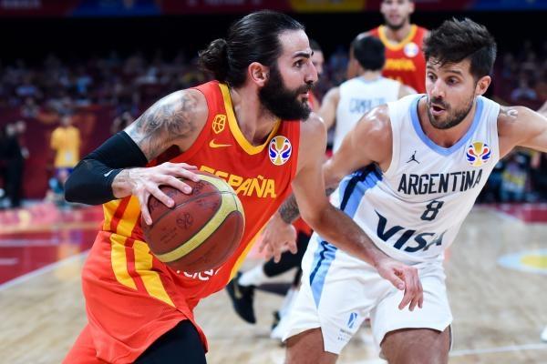 Basketbal: Španělsko - Argentina