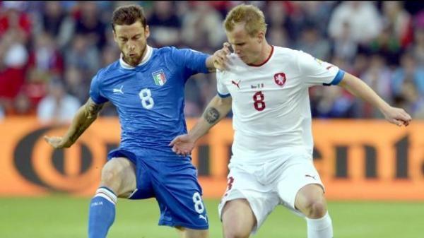 Fotbal: Česko - Itálie