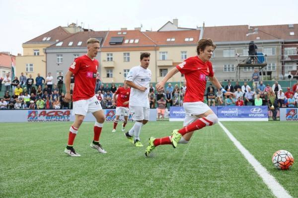 Malý fotbal: Česko - Maďarsko