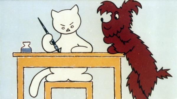 Jak pejsek s kočičkou psali psaní
