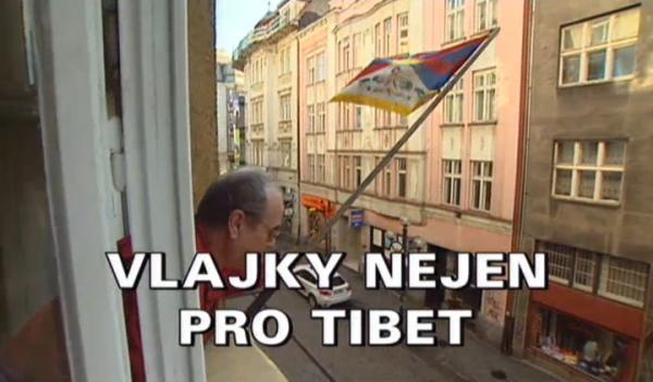 Vlajky nejen pro Tibet