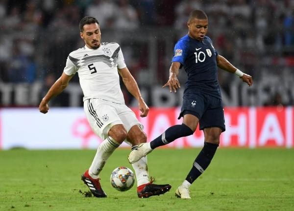 Fotbal: Francie - Německo