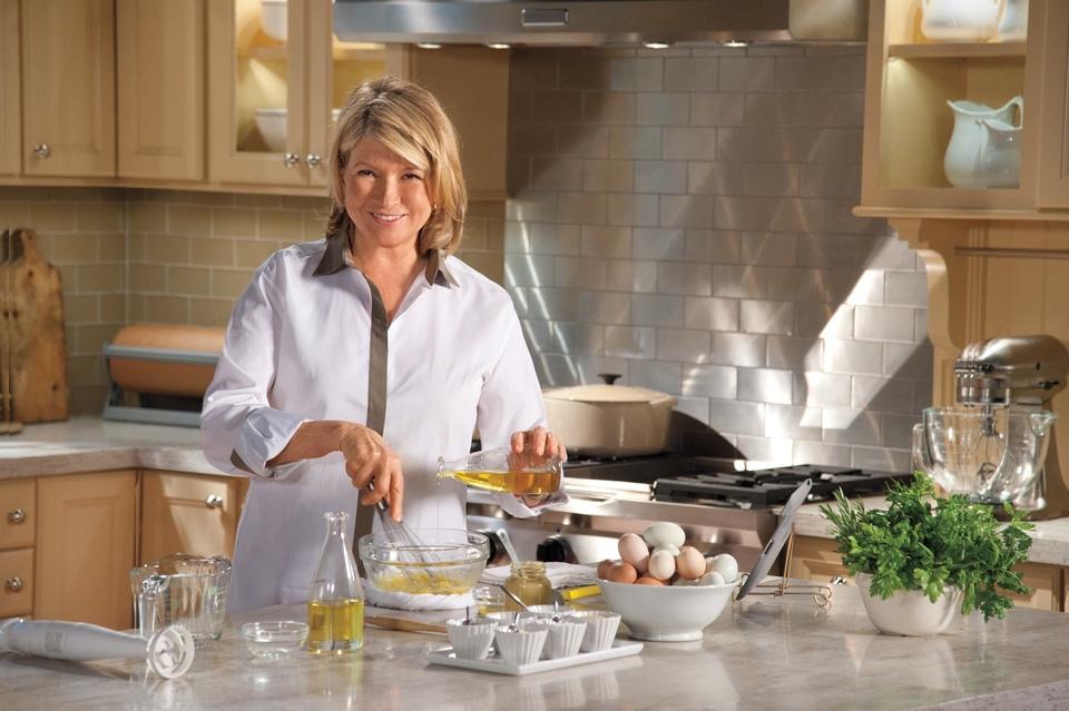 Dokument Škola vaření s Marthou Stewart
