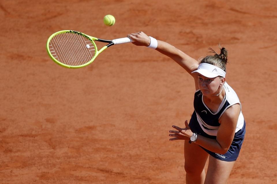 Tenis: Barbora Krejčíková - Maria Sakkariová