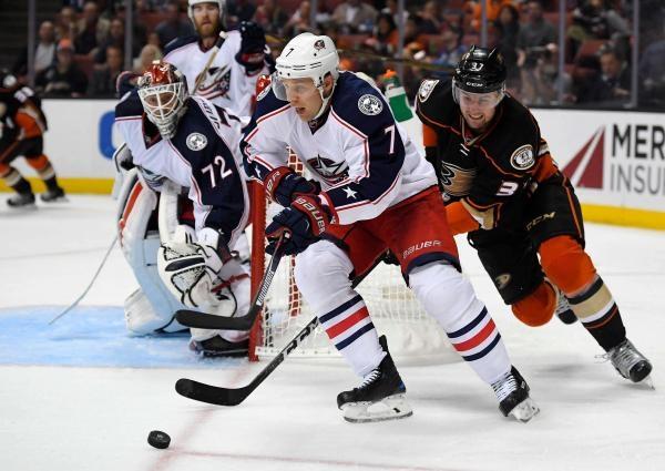 Columbus Blue Jackets - Anaheim Ducks