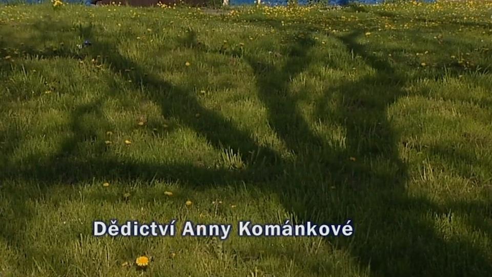 Dokument Dědictví Anny Kománkové