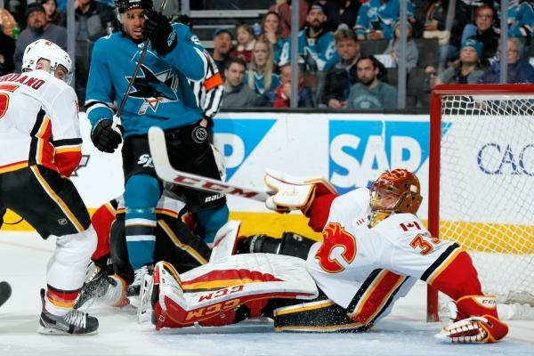 San Jose Sharks - Calgary Flames
