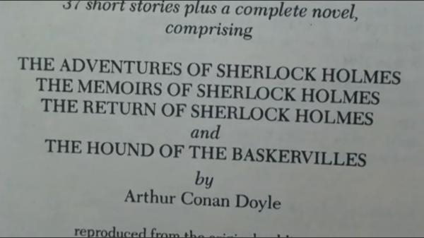 Dokument Šílenství Sherlocka Holmese