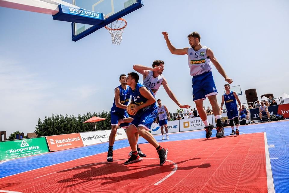 Basketbal: Chance 3x3 Tour Louny