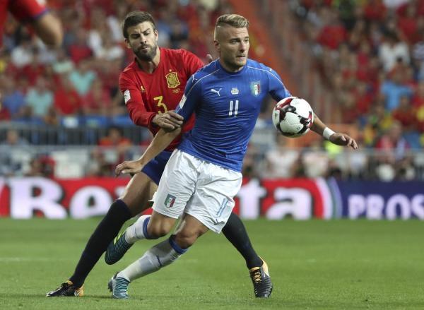 Fotbal: Itálie - Švýcarsko