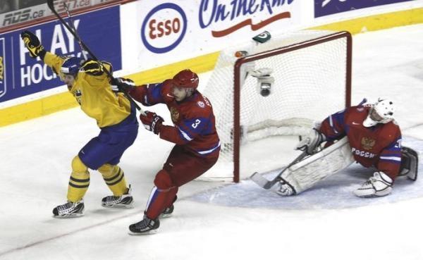 Hokej: Švédsko - Rusko