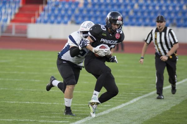 Americký fotbal: Aquaponik Ostrava Steelers - Prague Lions