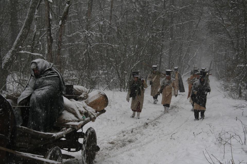 Dokument Napoleonovo tažení do Ruska: Vpád
