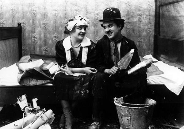 Dokument Film o filmu Chaplin lepičem tapet
