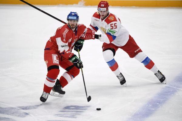 Hokej: Švýcarsko - Slovensko