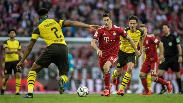 DFL-Supercup 2021: Borussia Dortmund - Bayern Mnichov