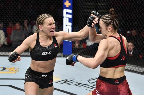 Lucie Pudilová v UFC