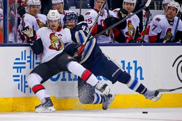 Columbus Blue Jackets - Ottawa Senators
