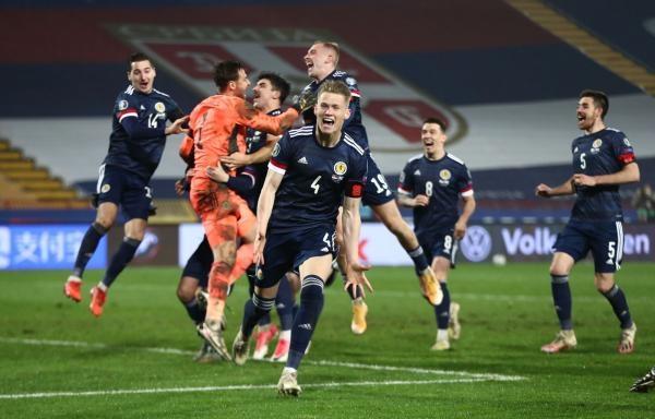 Fotbal: Rakousko - Severní Makedonie