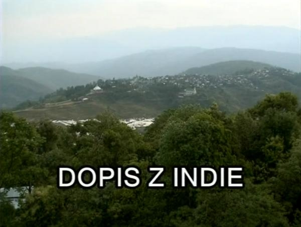 Dopis z Indie