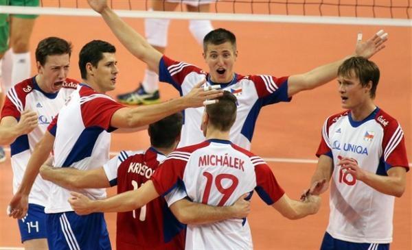 Volejbal: Bělorusko - Česko
