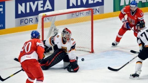 Hokej: Německo - Česko