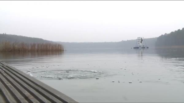 Poklad na jezeře Arthura Greisera