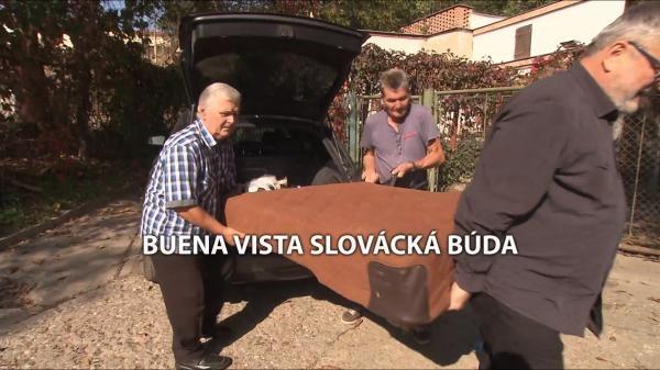 Buena vista Slovácká búda