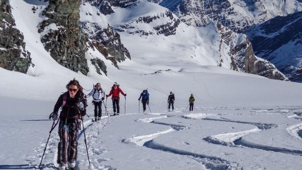 Na skialpech přes hory I.