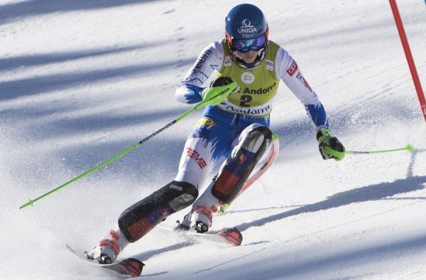 Zjazdové lyžovanie SP - preteky
